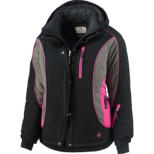 Legendary Whitetails Women's Polar Trail Pro Series Winter Jacket Black XX-Large