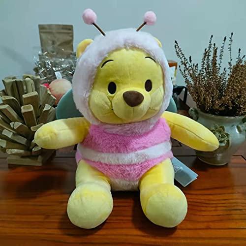 Peluche Disney Winnie The Pooh Juguetes De Peluche Pooh Bear Cosplay Rosa Abeja Muñecos De Peluche 30cm Kawaii Chico Regalo
