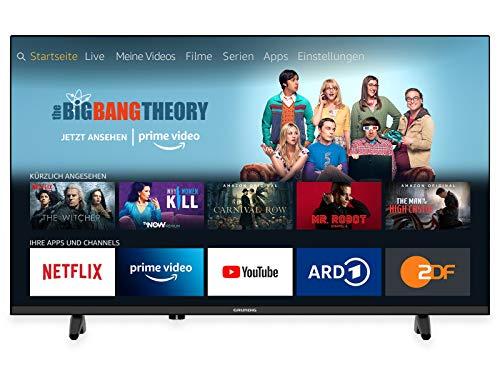 Grundig 43 GFB 6070 Fire TV Edition LED-Fernseher, schwarz, SmartTV, FullHD