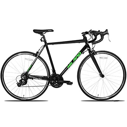 Hiland Road Bike,Adult Alumilum 700C Road Racing Bicycle for Men,Urban...