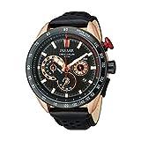Pulsar 222790044 - Reloj de pulsera para hombre, con cronógrafo, color oro rosa