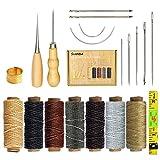 SIMPZIA 20 Pieces Leather Craft Tools...