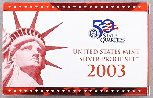 2003 S U.S. Mint Silver Proof Set Proof