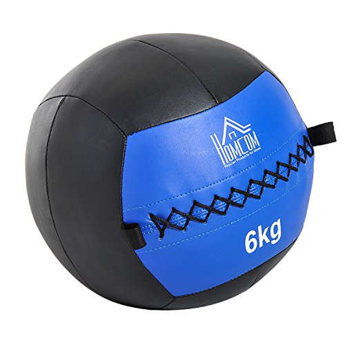Homcom Balón Medicinal de Crossfit 6Kg