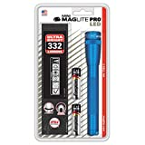 Mag-Lite Mini Pro SP2P11H - Torcia a LED 226 Lumen, ANSI Standard, colore: Blu