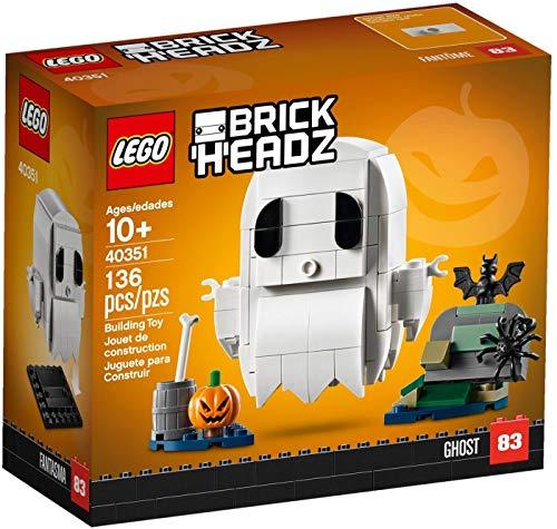 LEGO BrickHeadz Halloween Ghost 40351 Building Kit (136 Pieces)