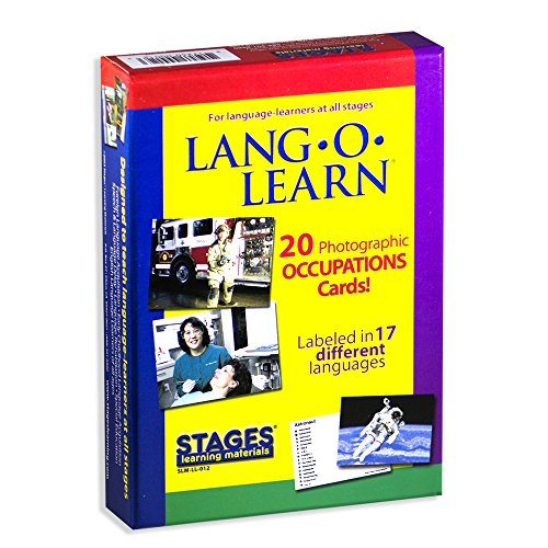 Lang-O-Learn 20 Photographic Occupations Cards by Stages Publishing