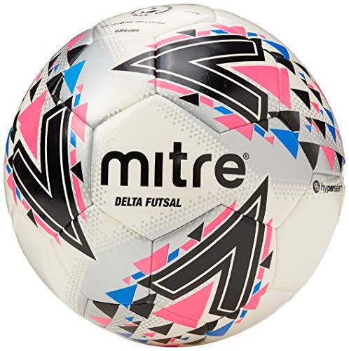 Mitre Delta Futsal Football, weiß/pink, 4