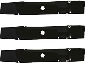 "NEW Set of 3 Mower Blades 48/"" John Deere GX21784 GY20852"