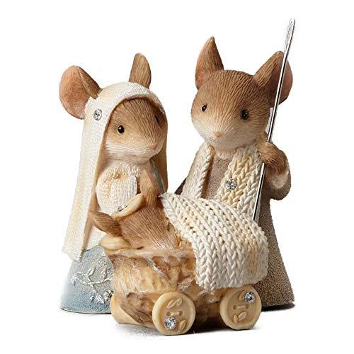 Enesco Heart of Christmas Mice Nativity Pageant Figurine