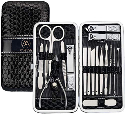 Beauty Shopping Nail Clippers Kit – Manicure Pedicure Set – Professional