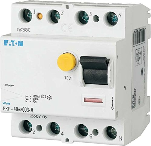 Eaton 236805 Fi-Schutzschalter 4-polig 63A 500mA PXF-63/4/0,5A