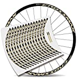 Kit Pegatinas Bicicleta Stickers LLANTA Mavic Crossmax Pro Carbon 29'' MTB BTT B (Beige)