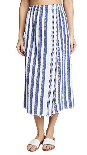 Lemlem Women's Lulu Skirt, Blue, Small