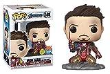 Figura de vinilo POP! Funko Marvel End Game I Am Iron Man que brilla en la oscuridad – PX Exclusive