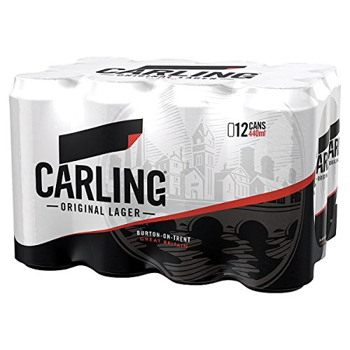 Carling Lager 12 x 440ml (Pack of 12x440m)