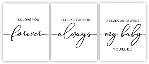 """Inspiration wall prints Inspirational Quote&Saying Art Painting Modern Minimalist Set of 3 (8""""X10"""") Canvas Painting Picture Phrases Wall Art Poster Kids Room Home Decor Wall Art Decor (UNFRAMED)"""