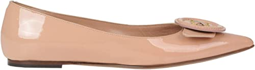 L'Autre Chose Patent-Leather Ballerinas Woman