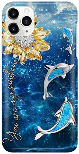 """""""Dolphin are My Sunshine"""" Phone Case"""