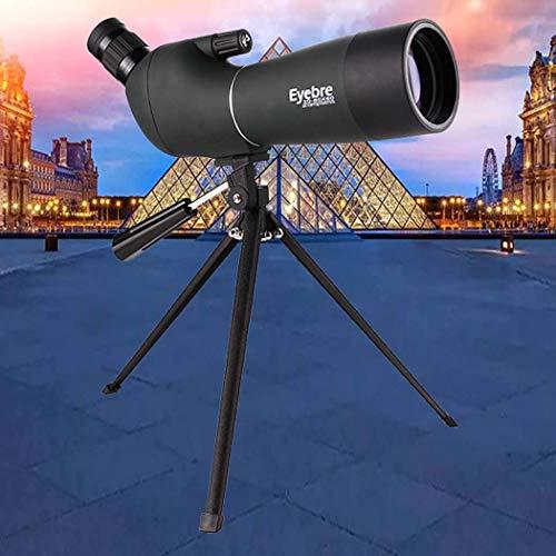 smzzz Inicio Accesorios Telescopio Refractor con trípode y buscador Telescopio portátil Película Verde Multicapa Llena de nitrógeno Impermeable Verde 20~60X60