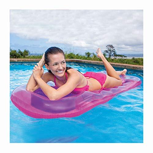YBZS Schwimmring,Wasserstuhl/Umwelt Polymer PVC/Erwachsene Männer Und Frauen / 0,35 Mm Dickes Material/Klein,Rosa