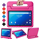 BMOUO Kids Case for Onn 10.1 Pro Tablet 2020 (Model: 100003562),Shockproof Light Weight Convertible Handle Stand Kids Case for Walmart Onn 10.1' Pro Android Tablet 2020(JUST for Onn 10.1 PRO),Rose