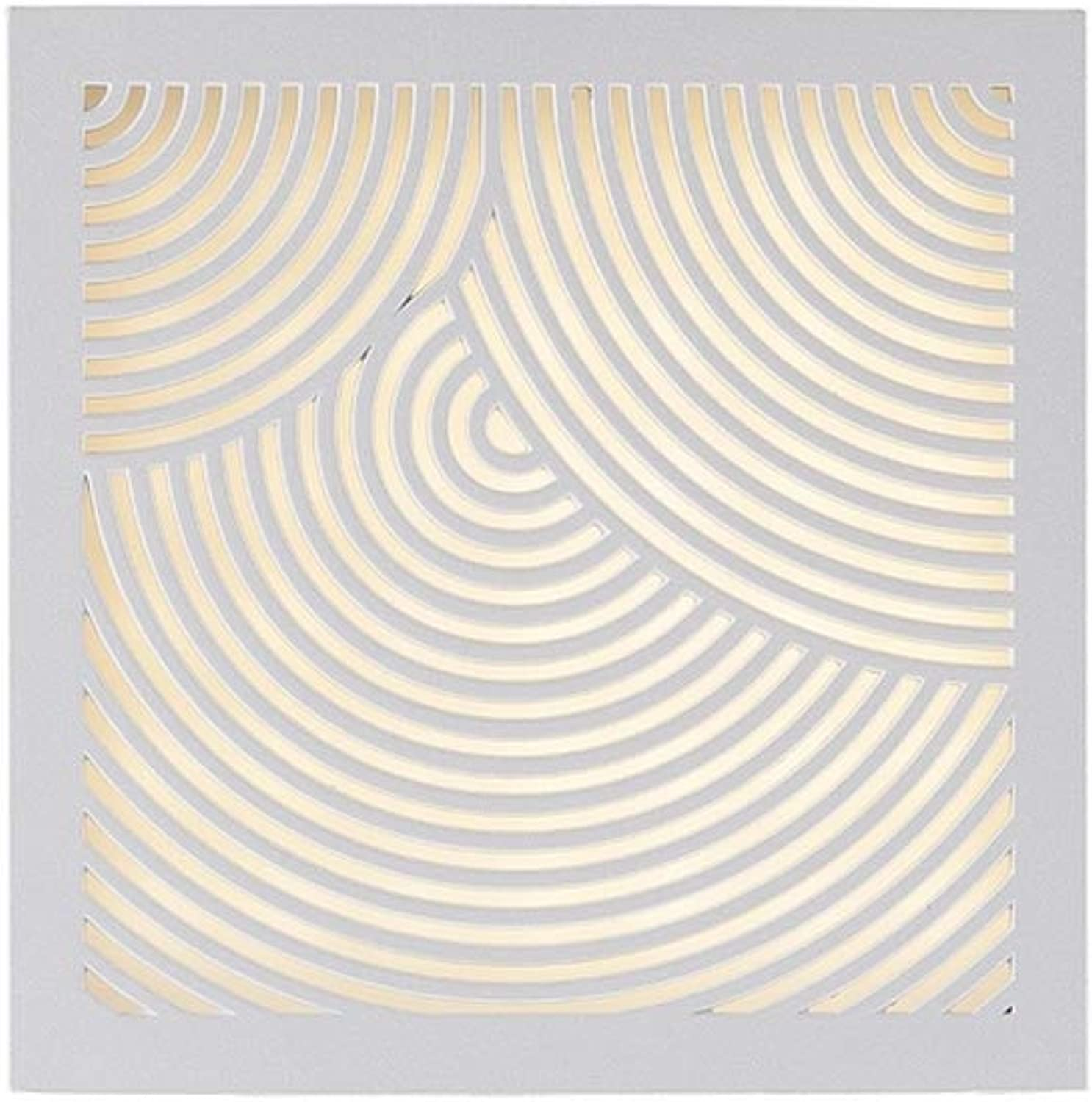 Design for the people by Nordlux - LED-Wandleuchte MAZE STRAIGHT Auenleuchte IP44, 18 x 18cm, parallel verbindbar, Wei EEK  A++ - A