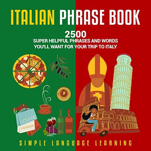 Page de couverture de Italian Phrase Book