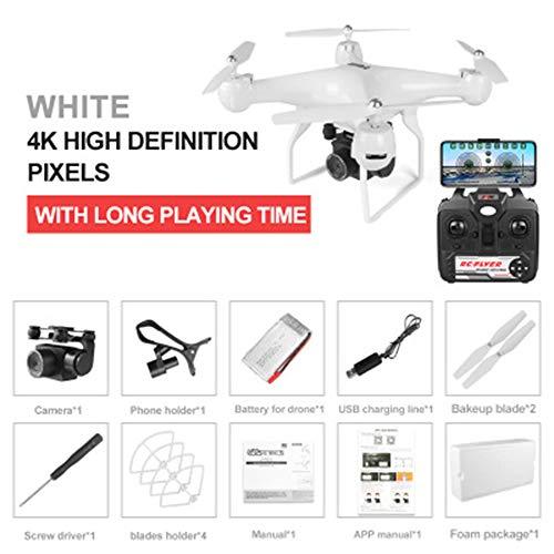 WiFi FPV RC drone, 4K / 1080P groothoek verstelbare ESC HD camera hoogte blijven RC drone -25 minuten vliegtijd,3