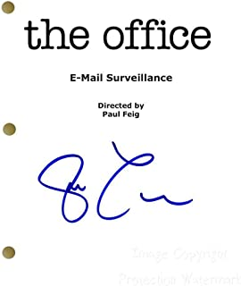 Steve Carell The Office Signed Autographed Script Print