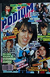 PODIUM HIT 180 février 1987 BALAVOINE GOLDMAN Véronique JANNOT DAHO DESIRELESS LOEB