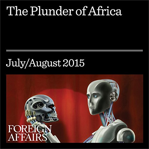The Plunder of Africa audiobook cover art