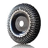 Muela Amoladora 100mm, OBA Discos Madera Amoladora Discos para Amoladoras Angulares de Carburo de Tungsteno ,molienda tallado