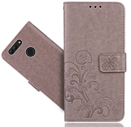 Huawei Nova 2 Handy Tasche, FoneExpert® Wallet Hülle Cover Flower Hüllen Etui Hülle Ledertasche Lederhülle Schutzhülle Für Huawei Nova 2