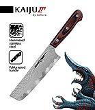 Couteau Samura KAIJU Nakiri Conçu avec une géométrie japonaise traditionnelle un...