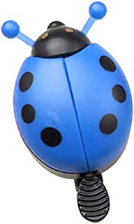kaaka Cute Ladybird Shape Safety Horn Bicycle Alarm Bell for Kids Bike Accessory