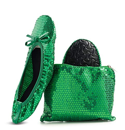 Top 10 best selling list for sparkly green flat shoes