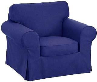 HomeTown Market Sofa Covers Custom Made for Pottery Barn PB Basic Armchair Slipcover (PB Basic Chair (Width: 39.5