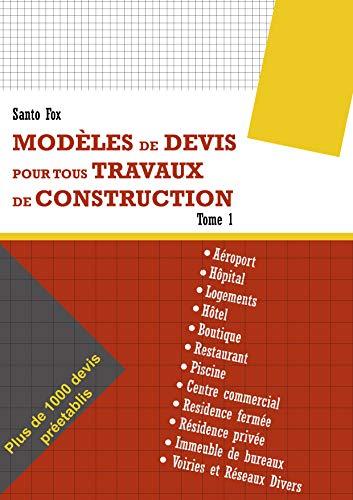 Amazon Modeles De Devis Pour Tous Travaux De Construction Plus De 1000 Devis Preetablis French Edition Kindle Edition By Fox Santo Test Guides Careers Kindleストア