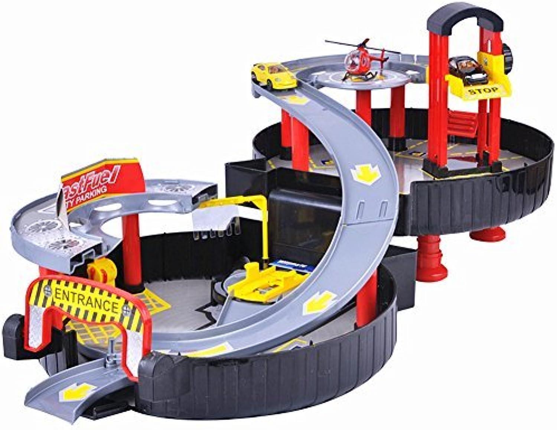 tienda hace compras y ventas CrazySell CrazySell CrazySell Hot Wheel Modern Coche Park Track Tyre Auto Parking Garage Petrol Station Kids Jugar Set Juguete by CrazySell  Todos los productos obtienen hasta un 34% de descuento.