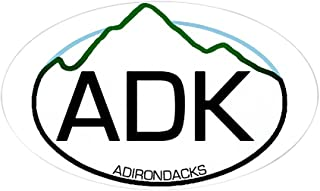 CafePress ADK Oval Oval Sticker Oval Bumper Sticker, Euro Oval Car Decal