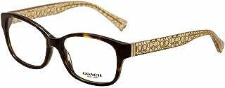Women's HC6049 Eyeglasses Dark Tortoise/Crystal Brown 54mm