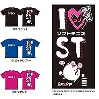 ゴーセン GOSEN ソフトテニス ウェア Tシャツ J17P01 96マゼンダ M