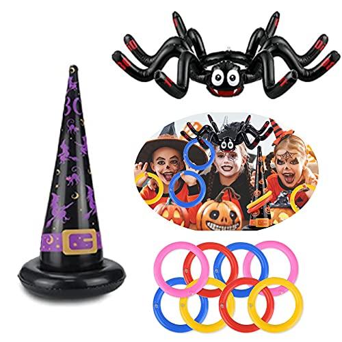 Halloween Inflatable Spider Hat,...