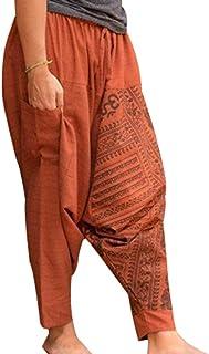 d8d611be9 Amazon.es: Pantalones Hippies - Naranja