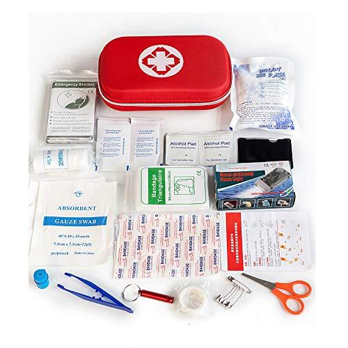 Wzz Tragbares Erste-Hilfe-Set Enthält 18 Konfigurationen Home Outdoor Erste-Hilfe-Kit Auto Medizin Tasche Notfall-Rettungsset Für Schüler, Die Einen Campingausflug Im Freien Unternehmen