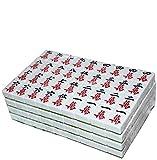 SHY Juego de Mesa Mah Jong Tile Games Chino Tradicional Mahjong Entertainment Mejor Regalo Magnetic Mahjong Adecuado para máquina automática de Mahjong (Color: Verde, Tam