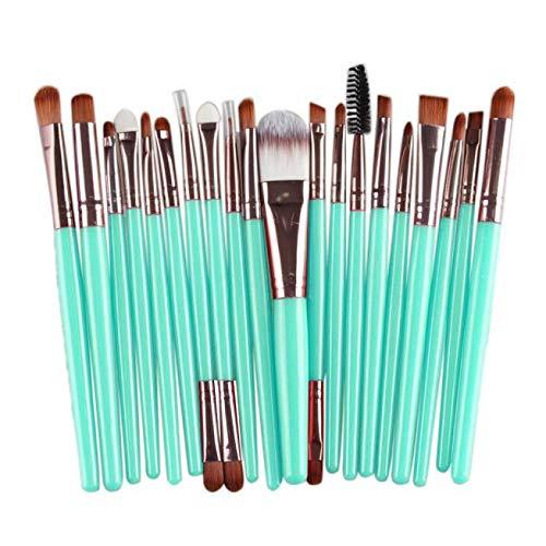 Weant Pinceaux Maquillage Professionnel 20 Pièces Cosmétique Pinceaux Kit Pour Liquide Poudre Crème Fusion de Fond de Teint Concealer Eye Visage Synthétique Pinceaux de Maquillage