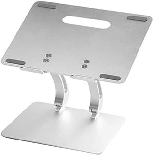 Bijibensanreqi Aleación De Aluminio For Computadora De Escritorio del Radiador Portátil For Computadora Oficina Soporte For Cuello Antideslizante Sólido (L26.5 * W22.5 Cm)
