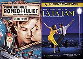 Top Leading Men In Modern Classic Musicals: Romeo and Juliet (Special Edition) + La La Land 2 DVD Movie Set Bundle